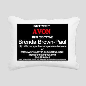 Advertisement Rectangular Canvas Pillow