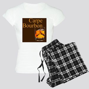 Carpe Bourbon Button Women's Light Pajamas