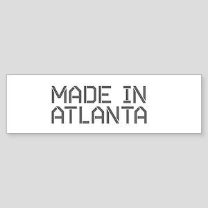 MADE IN ATL Bumper Sticker