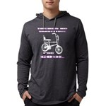 Chopper Bicycle Mens Hooded Shirt