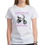 Chopper Bicycle Women's Classic White T-Shirt