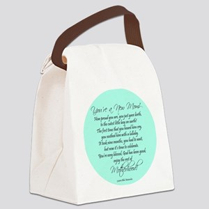 New Mom Ornament Boyl Canvas Lunch Bag