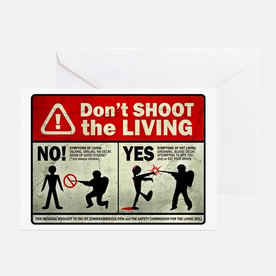 dontshoot Greeting Card