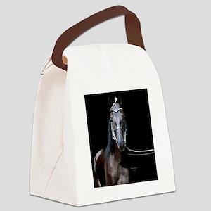 blk_walker_rnd Canvas Lunch Bag