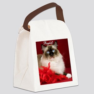 Maddie Tile Coaster Canvas Lunch Bag