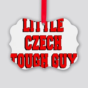 Little Czech Tough Guy Picture Ornament