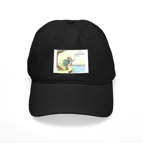 AK FLY FISHING Black Cap