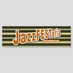 Jazzfesteria Bumper Sticker