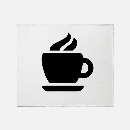 Coffee Ideology Throw Blanket