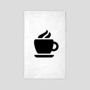Coffee Ideology 3'x5' Area Rug