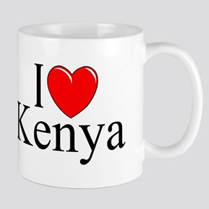 """""""I Love Kenya"""" Mug"""