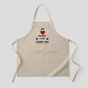 Yorkie-Poo Light Apron
