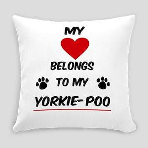 Yorkie-Poo Everyday Pillow