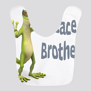 Peace Lizard Bib