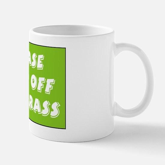 keep off grass Mug
