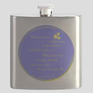 Follow Your Dreams Ornament Flask