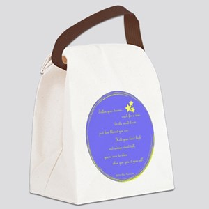 Follow Your Dreams Ornament Canvas Lunch Bag