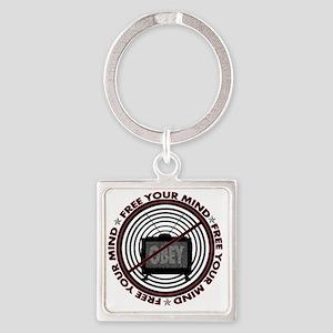 notv_shirt Square Keychain