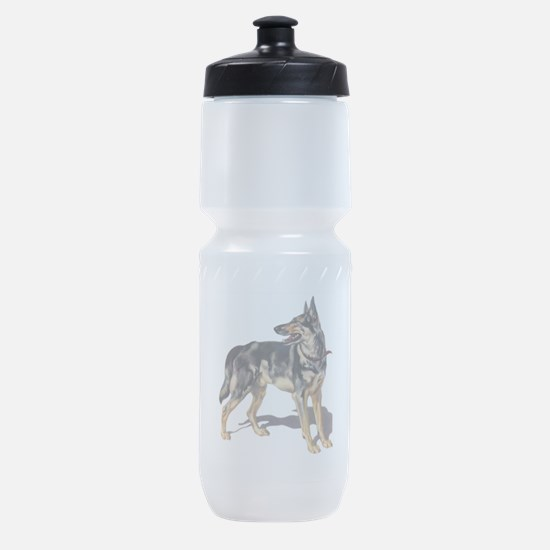 German Shepard Sports Bottle