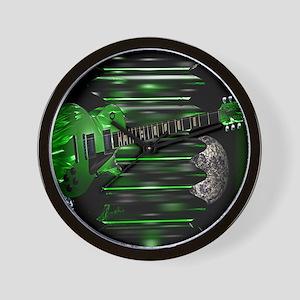 greenguitar Wall Clock