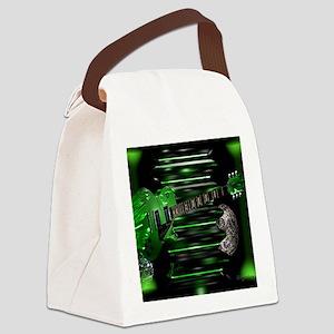 greenguitar Canvas Lunch Bag