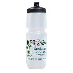 Gardening adds Years Sports Bottle