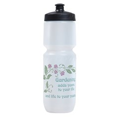 Gardening adds Years Sports Bottle