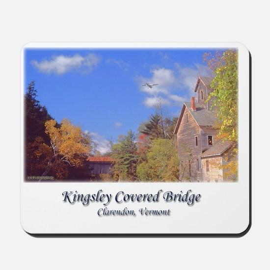 Kingsley Covered Bridge Mousepad