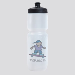 Skateboard Kid Sports Bottle
