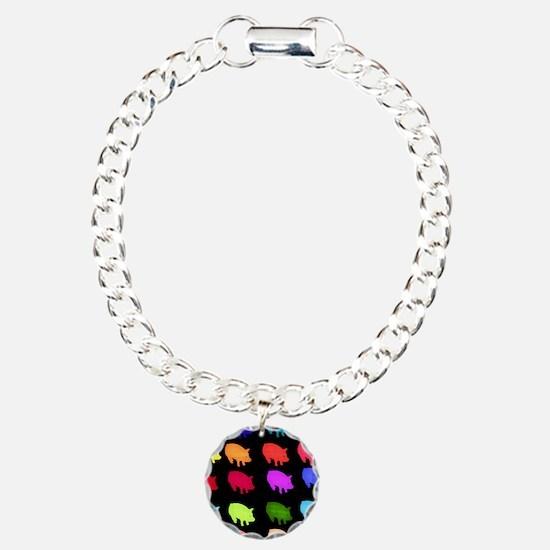 Rainbow Pigs Bracelet
