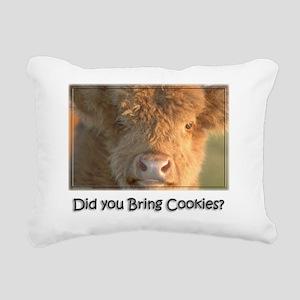 Bring Cookies Rectangular Canvas Pillow