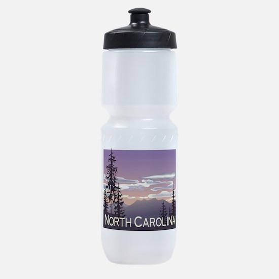 North Carolina Mountains Sports Bottle