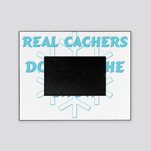 Real Cachers-Blue Picture Frame