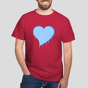 Icicle Heart Dark T-Shirt