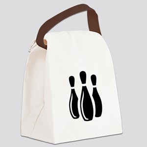 Bowling Ideology Canvas Lunch Bag