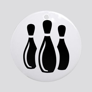 Bowling Ideology Ornament (Round)