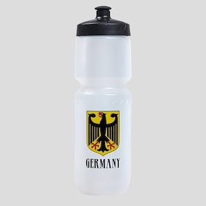German Coat of Arms Sports Bottle