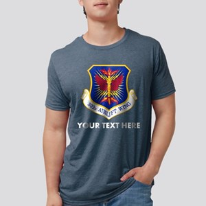 Personalized USAF 302D Airl Mens Tri-blend T-Shirt