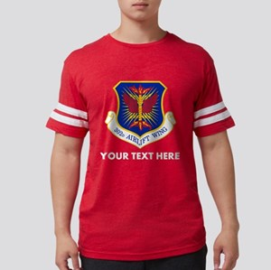 Personalized USAF 302D Airlift Mens Football Shirt