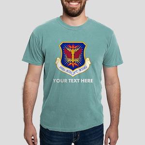 Personalized USAF 302D A Mens Comfort Colors Shirt
