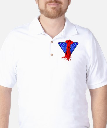 SQUID_ILLUSION Golf Shirt