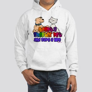 Adopt Shelter Pet (Rainbow) Sweatshirt