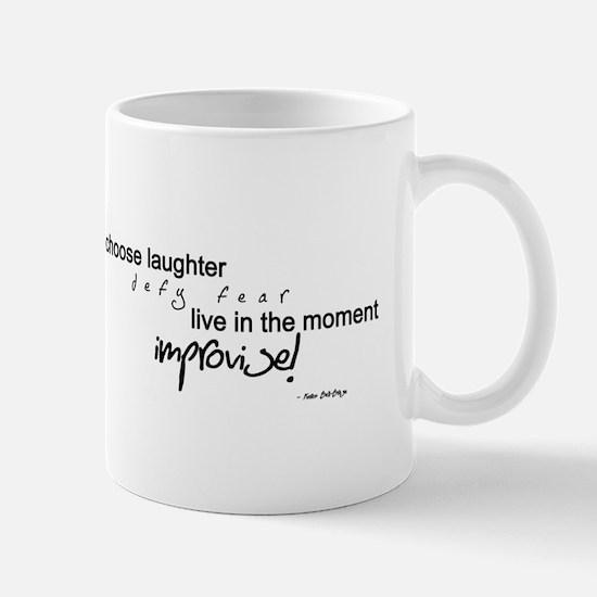 Choose Laughter - Improvise Mugs