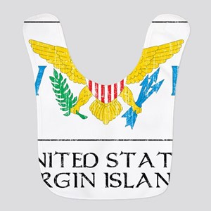 United States Virgin Islands Flag Bib