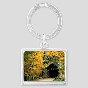 fallposter Landscape Keychain