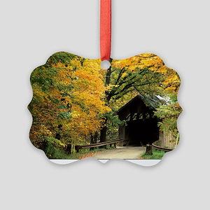 fallposter Picture Ornament