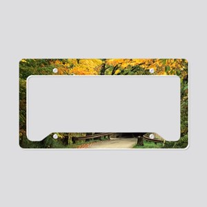 fallposter License Plate Holder