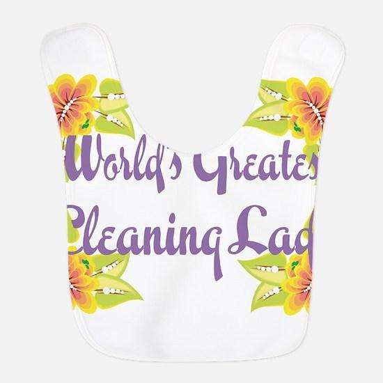 Worlds Greatest Cleaning Lad Bib
