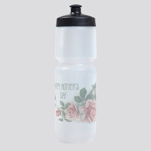 Mothers Day Roses Sports Bottle