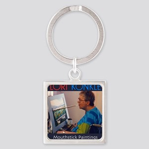 2011-Cover Square Keychain